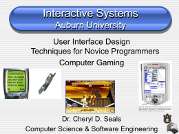 Interactive Systems Auburn University
