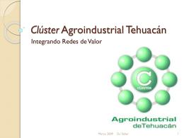 Clúster Agroindustrial Tehuacán