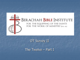 The Biblical Covenants: