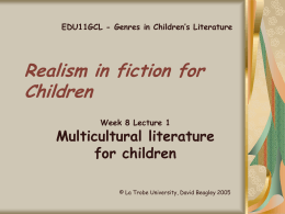 Realism fiction for Children
