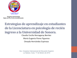 Claudia Cecilia Norzagaray Benitez Curso de