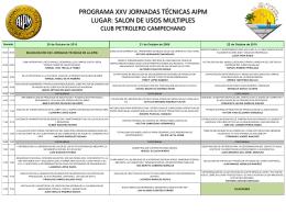 Diapositiva 1 - Colegio de Ingenieros Petroleros