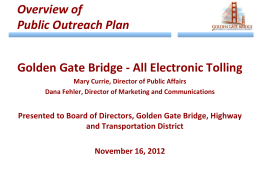 TCA Ad Hoc Committee Presentation
