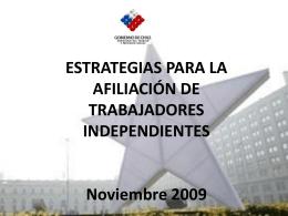 Diapositiva 1 - Subsecretaría de Previsión Social