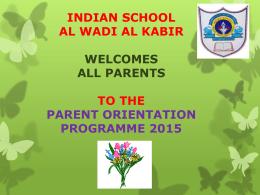 CCE - Indian School Al Wadi Al kabir::