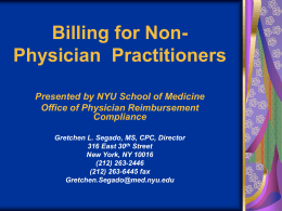 Billing for Nurse Practitioners