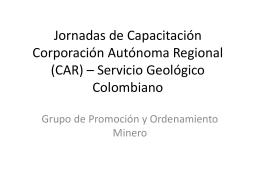 Jornadas de Capacitación Corporación Autónoma