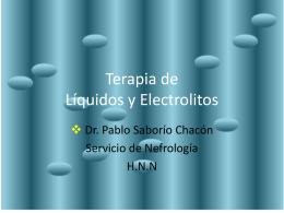 Líquidos Electrolitos