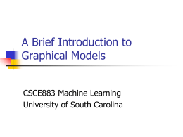 Introduction to Graphical Models