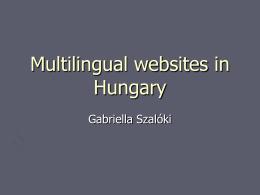 PowerPoint bemutató - Országos Széchényi könyvtár.
