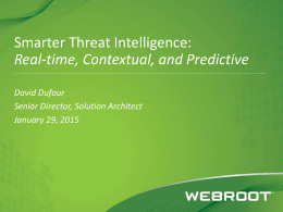Endpoint – Webroot SecureAnywhere® Gartner