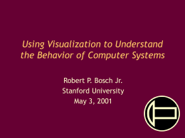 Using Visualization to Understand the Behavior of