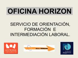 OFICINA DE INTERMEDIACIÓN LABORAL HORIZÓN