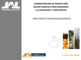 SECRETARÍA DE DESARROLLO RURAL Dirección General