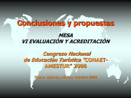 VI CONCLUSIONES EVAL Y ACRED 08