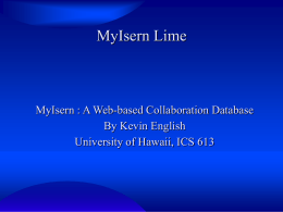 myisern-lime.googlecode.com