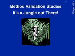 Method Validation Studies