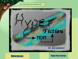 Interactive Fiction: New Literacy Learning