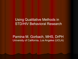 How is Qualitative Research Used?