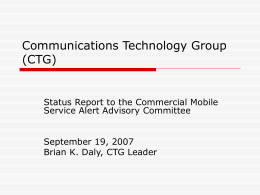 Communications Technology Group