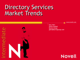 Directory Services Market Trends