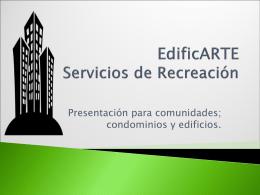EDIFICARTE talleres de recreación