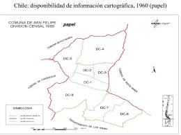 Chile: disponibilidad de información