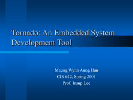 Cis Upenn Edu Lee 01cis642 Slides Tornado Ppt