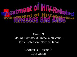 HIV/AIDS Powerpoint - University of Florida