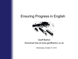 English Progress