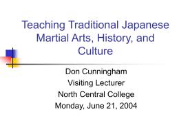 Japanese martial arts origins