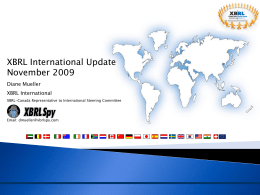 16th XBRL International Conference