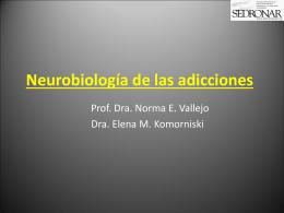 Neurobiología de las adicciones