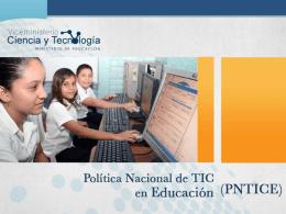 Diapositiva 1 - Viceministerio de Ciencia y