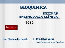Dislipoproteinemias - Bioquímica para Enfermería |