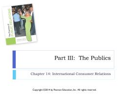 Part III: The Publics