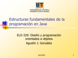 Estructuras fundamentales de la programación en