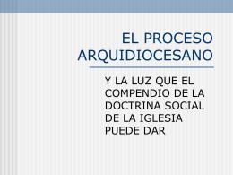 EL PROCESO ARQUIDIOCESANO - Sitio de la Vicaría de