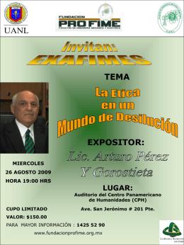 Diapositiva 1 - Fundación PROFIME