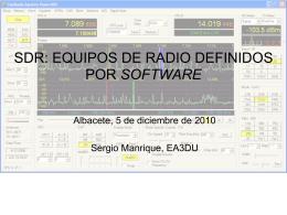 Diapositiva 1 - Unión de Radioaficionados