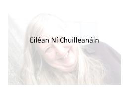 Eiléan Ní Chuilleanáin - Skerries community