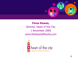 Heart of the City powerpoint presentation