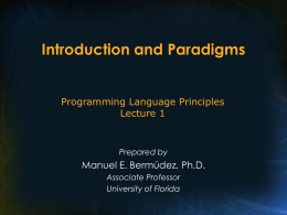 Paradigmas y Perspectivas Futuras en Computación
