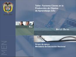 Taller: Factores Claves en la Producción de