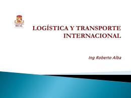 Logística y Transporte internacional