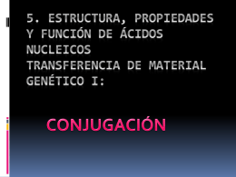5. ESTRUCTURA, PROPIEDADES Y FUNCIÓN DE ÁCIDOS