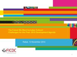 Diapositive 1 - Coalition pour la diversité