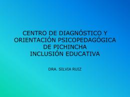 CENTRO DE DIAGNOSTICO Y ORIENTACION