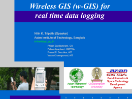 Wireless/Handheld Spatial Data Logger