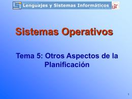 Prácticas de Sistemas Operativos